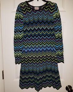 Hanna Anderson 150 (12) Chevron Dress